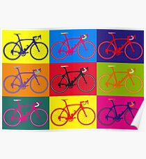 Bike Andy Warhol Pop Art Poster