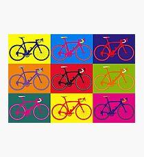 Fahrrad Andy Warhol Pop Art Fotodruck
