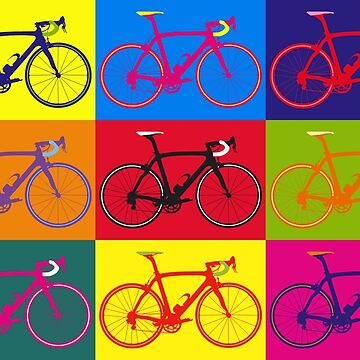 Bike Andy Warhol Pop Art by sher00