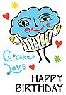 Cupcake Love - Card by Andi Bird
