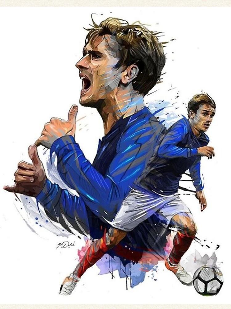 Antoine Griezmann Fußballspieler von V1rgil