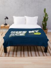 Kiss My Ace Tennis Pun - Funny Tennis Quote Gift Fleecedecke