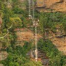 Katoomba Falls portrait by Michael Matthews