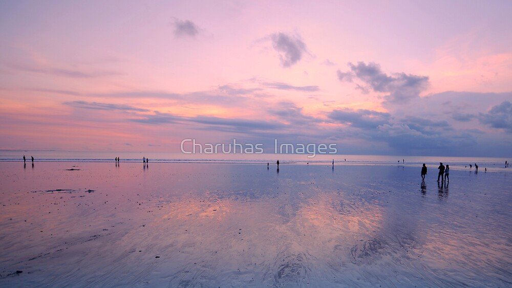 Kuta Beach in Bali by Charuhas  Images