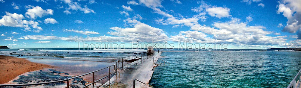Merewether baths  by Throwing  Buckets Magazine