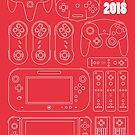 Nintendo Controllers - 35 Years of Play by Robin Wilde