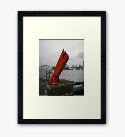 Industrial Sculpture No. 1 Framed Print