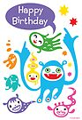 Monsters Birthday - card by Andi Bird
