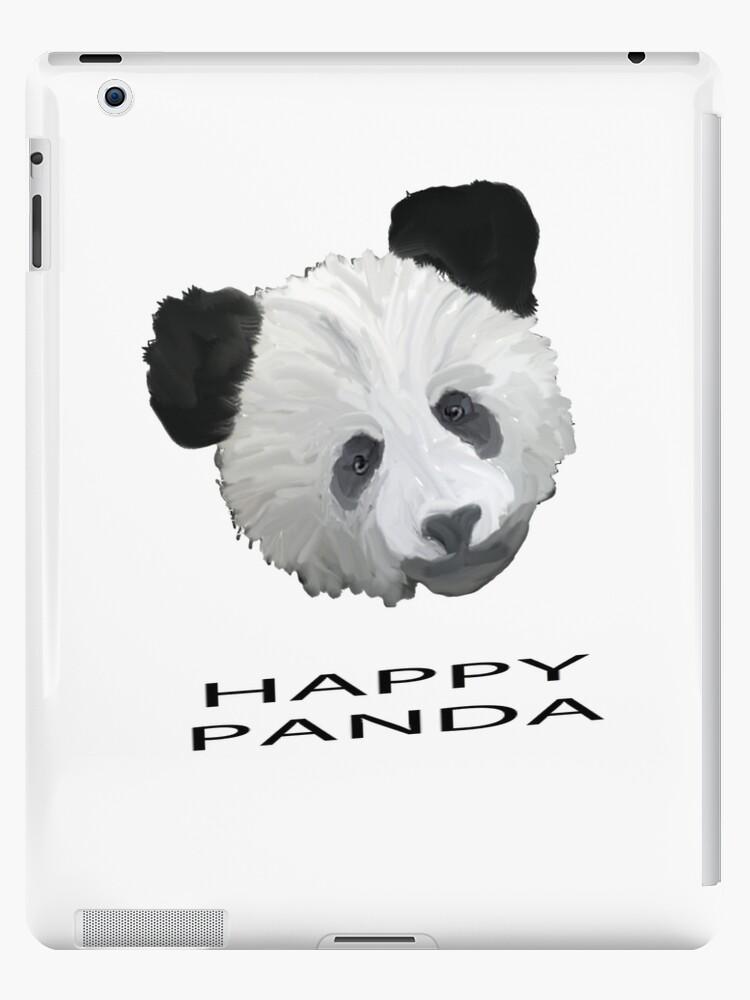 Happy Panda Tee, Iphone Case, Card by Corri Gryting Gutzman