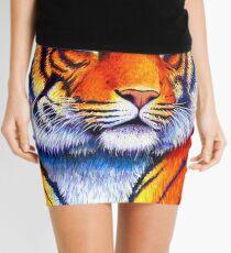 Colorful Bengal Tiger Mini Skirt