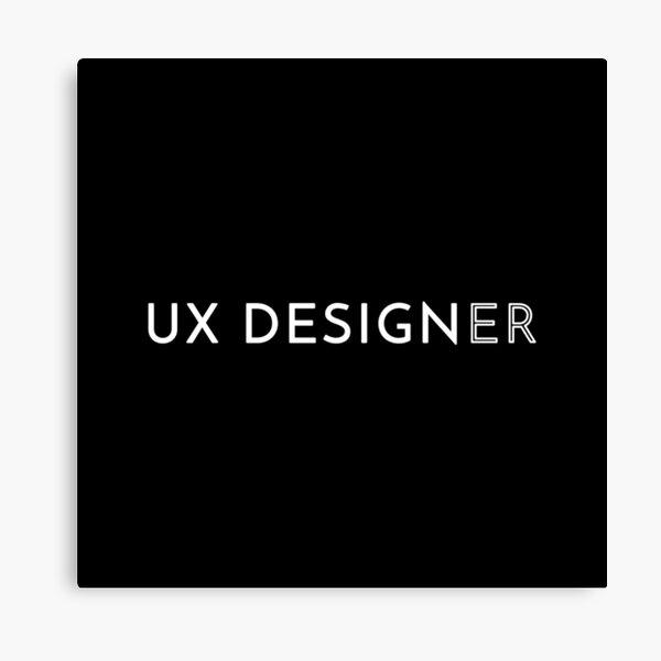 UX Designer Canvas Print