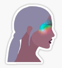 No Tears Left To Cry Vector Sticker