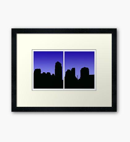 Vancouver From False Creek Framed Print