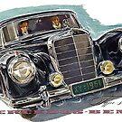 Fabulous Fifties.. 1953 Mercedes S class by edsimoneit