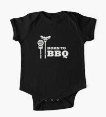 Born to BBQ One Piece - Short Sleeve