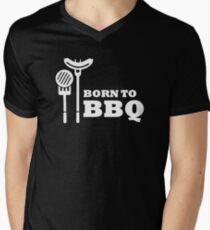 Born to BBQ Men's V-Neck T-Shirt