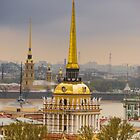 Saint Petersburg Admiralty by LudaNayvelt