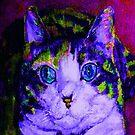 Blue-Eyed Kitty by hdettman