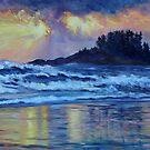 Chesterman Beach Sunset  by TerrillWelch