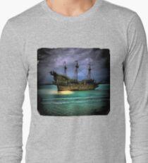 Pirate Boat Long Sleeve T-Shirt