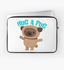 Hug a Pug Laptop Sleeve
