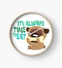 Hug a Pug Clock