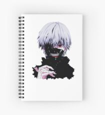 smile off ninja Spiral Notebook