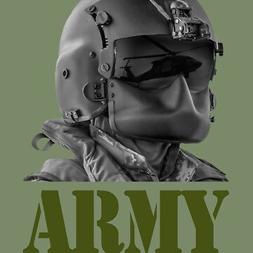 Army Aviator Helmet and Mask by rott515