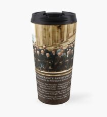 Albert Einstein Solvay Conference 1927 Travel Mug