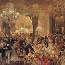 Menzel, Dinner at the Ball..Das Ballsouper  by edsimoneit