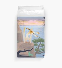 Caulkicephalus Cliffs Duvet Cover