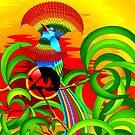 Paradise Bird by BluedarkArt