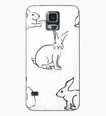 Häschen Hülle & Skin für Samsung Galaxy