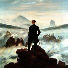 Wanderer above a Sea of Fog..Caspar Friedrich  by edsimoneit
