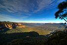 Jamison Valley The Blue Mountains by DavidIori