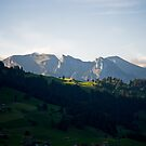 Last rays, Zweisimmen, Switzerland by Mark Howells-Mead