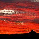 Mount Funnel Sunset by David de Groot