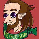 Peace Sista by magical-elf