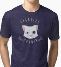 Legalize Catnip Tri-blend T-Shirt