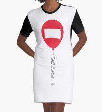 South Dakota State Balloon Graphic T-Shirt Dress