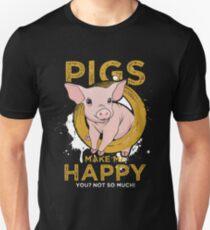 Pig pet Unisex T-Shirt