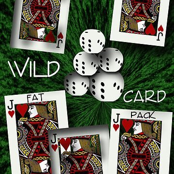 Wild Card Poster by DwCCreations