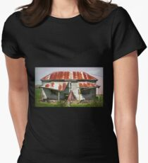 Dilapidated House, Gippsland Womens Fitted T-Shirt