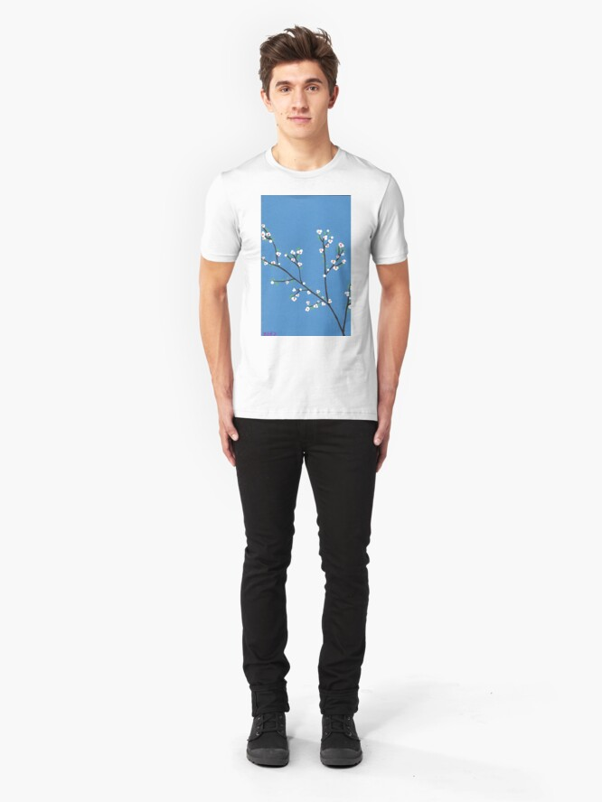 Alternative Ansicht von Blüten Slim Fit T-Shirt