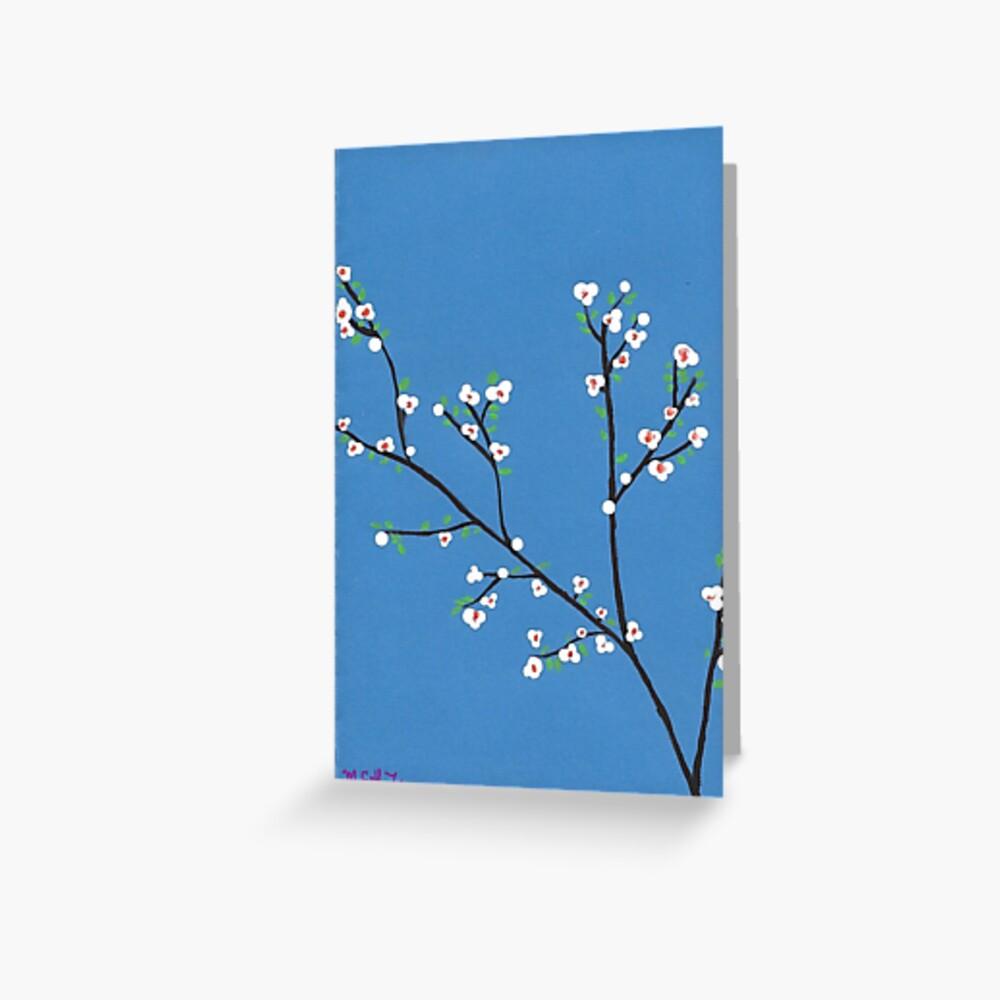Blüten Grußkarte
