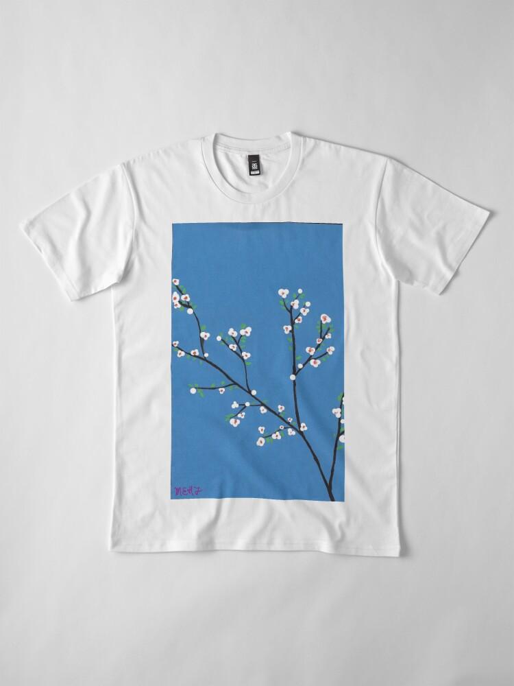 Alternative Ansicht von Blüten Premium T-Shirt