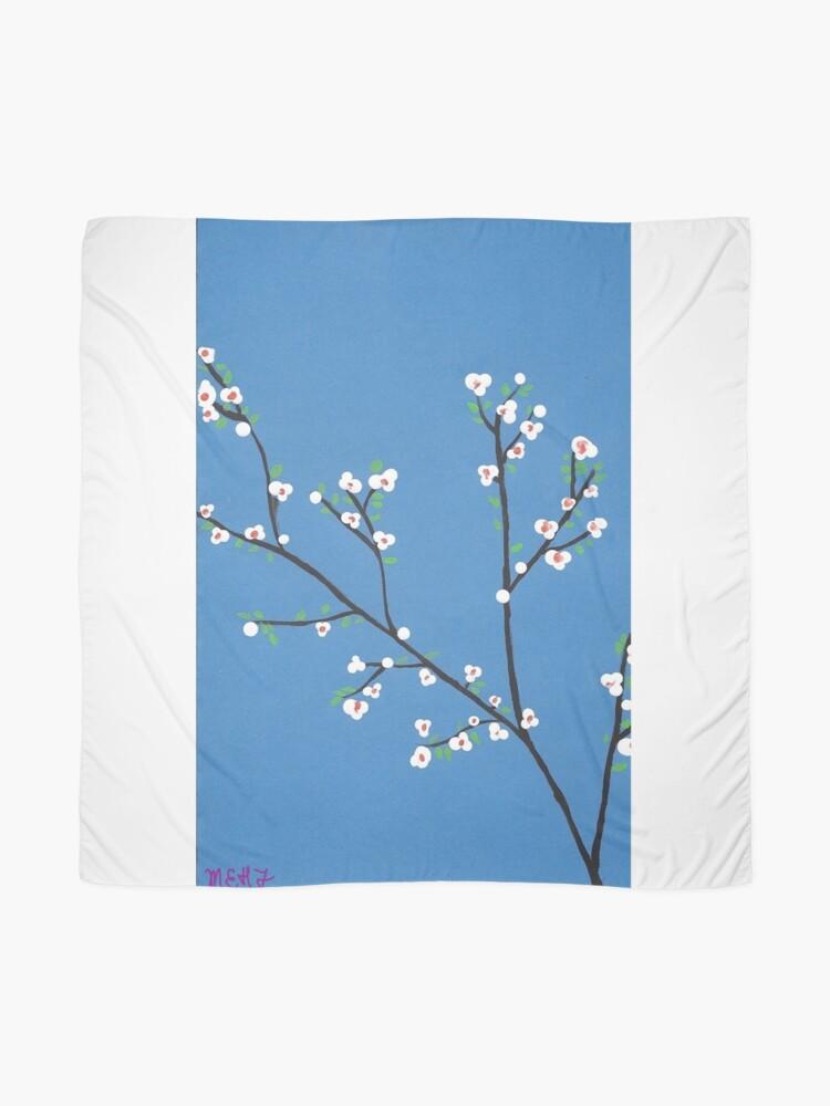 Alternative Ansicht von Blüten Tuch