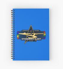 SWF 10th Anniversary Logo Spiral Notebook