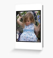 Pout Greeting Card