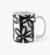 BW Flower in Window Mug